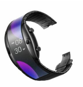 ZTE Nubia alpha Smart Watch GLOBAL version foldable flexible oled bracelet DHL