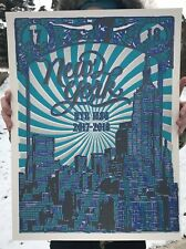 PHISH poster NYE MSG 2017/18 Phan Art NYC Limited Edition Screen Print