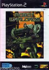 JEU PS2../.....ROBOT WARLORDS....