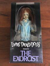 "Mezco Toyz Living Dead Dolls Presents The Exorcist Regan 10"" Figure LDD New"