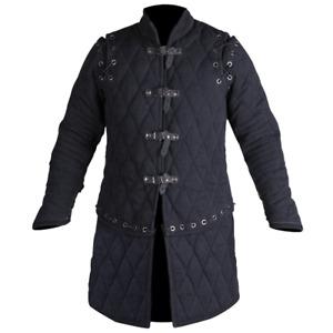 Padded Medieval Gambeson Jacket COSTUMES DRESS SCA coat Akelton Vest Halloween G