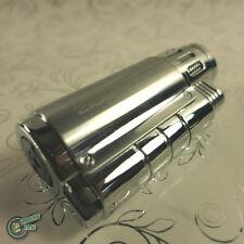 3 JET Lighter Cigar Burner Butane Gas Refillable Refill Cigarette Triple Flame C