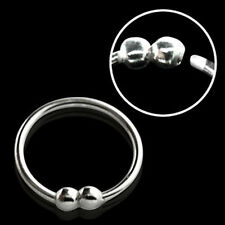 1-3PC Rings 20G-22G Nose Tragus Ear Piercing Hoop Ball Closure Color Plated Set
