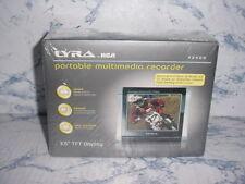 "RCA LYRA X2400 3.5""LCD DIGITAL VIDEO RECORDER AV INPUT AUDIO VIDEO INPUT DVR DV"