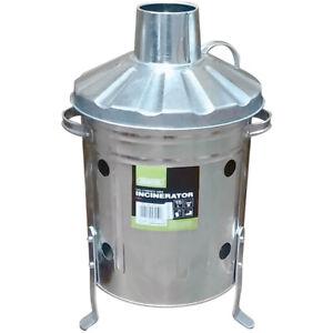 Draper Tools Galvanised Mini Incinerator (15L)