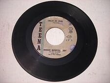 Robbie Montgomery and the Ike - Ettes Crazy in Love / Pee Wee 1962 45rpm