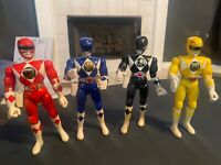 1994 Mighty Morphin Power Rangers Karate Action Rangers MMPR Lot of 4