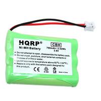 Hqrp Batterie pour Vtech mi6896 mi6897 6822bat 6822 Maison Téléphone sans Fil