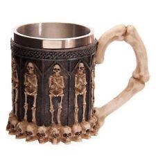 Stainless Steel Skull Mugs