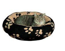 Trixie Dog Cuddly Bed Sammy Black/beige Various Sizes 50 Cm 37681