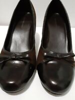 Brown Shoes Women Size 8 M  Medium Heel 3 Inch .Pre-owned ,Prediction.