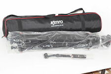 Kenro Standard Aluminium Video Stativ Kit mit vh01b Ball Base Fluid Head
