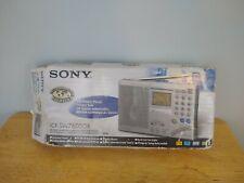 SONY ICF-SW7600GR World Band Receiver Shortwave Radio AM/FM w/ Manuals + Box
