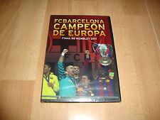FC BARCELONA CAMPEON DE EUROPA FINAL DE WEMBLEY 2011 BARÇA DVD NUEVO PRECINTADO