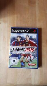 Pro Evolution Soccer 2010 (Sony PlayStation 2, 2009, DVD-Box)