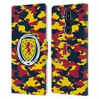 OFFICIAL SCOTLAND NATIONAL TEAM LOGO 2 LEATHER BOOK WALLET CASE FOR NOKIA PHONES