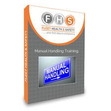 Manual Handling Training 200+ Slides  Inc Certificates,  & Quiz USB Drive