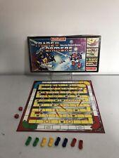 Vintage Transformers Warrior Robot Game Waddingtons Board Game 1985 - Complete