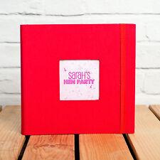 Kenro Aztec Red Series Photo Album Memo 200 6x4