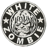 Ecusson patche WHITE ZOMBIE thermocollant patch zombies