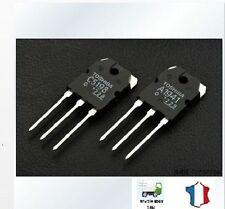 2x transistor paire 2sa1941/2sc5198; 100w 140v 10a; Fenghua