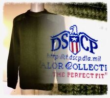 USMC DSCP MARINE USMC MILITARY UNIFORM 100% Wool SWEATER PULLOVER 44 Excellent
