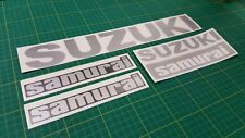 Suzuki SJ Samurai 4x4 Decals Stickers graphics replacement any colours  quality