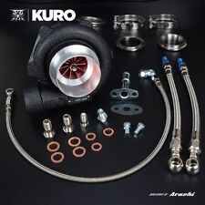 "KURO Billet Ball Bearing Turbo 3"" GTX2871R w/ A/R .57 V-Band + FREE T-shirt"