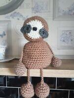 Crochet pattern for amigurumi chunky cuddly soft toy Sloth