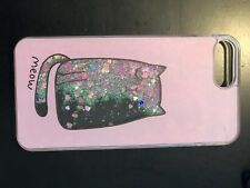 Meow Kitty Quicksand Glitter Case