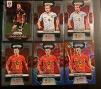 2018 Prizm World Cup Eden Hazard Harry Kane Lot (6) England Belgium 2016 Hazard