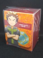 Pokemon center JAPAN - Brock Card Deck case Box