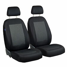 Schwarz-Graue Triangles Seat Covers for Toyota Avensis Car Seat Cover Front