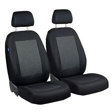 Schwarz-graue Dreiecke Sitzbezüge für PEUGEOT 308 Autositzbezug VORNE