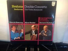 JANOS STARKER - Plays Brahms & Beethoven ~ PHILIPS 6500 137 {nm} w/Szeryng >RARE