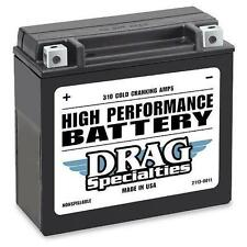 Drag Specialties - High Performance 12V Battery for Touring      2113-0322