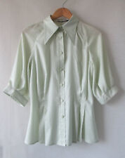 Donna Sgro sz 10 Rare Cotton Blouse
