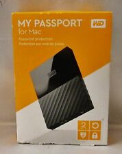 New Western Digital WD My Passport Mac 2TB Portable Hard Drive Storage Free Ship