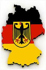 Refrigerator fridge magnet GERMANY BERLIN FLAG photo vinyl gift FREE POSTAGE