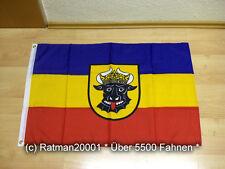 Fahnen Flagge Mecklenburg Wappen Ochsenkopf - 60 x 90 cm