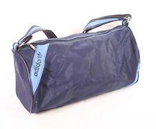 B10 Adidas Teambag Sporttasche blau Umhängetasche Damen Herren Kinder Vintage