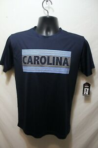 New UNC Tar Heels Youth Colosseum T-shirt Size L 16-18 100% Polyester NWT Blue