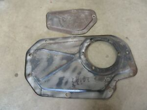 1962 Cadillac Series 62 firewall cover panel access steering column hot rod