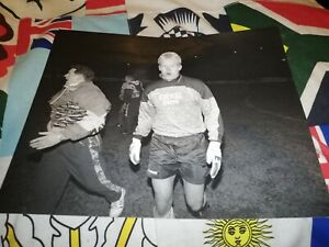 Original Peter Schmeichel brondby if press photo A4 very rare