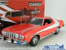 STARSKY & HUTCH FORD GRAN TORINO MODEL CAR 1:24 SCALE LARGE 1976 GREENLIGHT K8