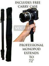 "72"" Black Monopod for SONY HDR-XR200V HDR-X100"