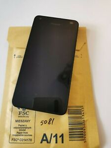 "Microsoft Lumia 550 4.7"" - 8GB - Black 4G Unlocked Smartphone"