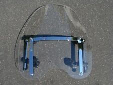 "Large 19""x17"" Clear Windshield for Honda Magna Shadow Spirit Sabre 600 750 1100"