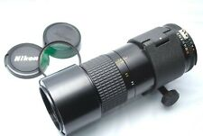 Nikon Ai-s Micro Nikkor 200mm f/4 MF Macro Lens From Japan #F39