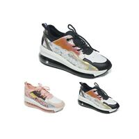 WOMENS LADIES LACE UP CHUNKY TRAINERS FASHION PLIMSOLLS CASUAL SNEAKERS SHOES